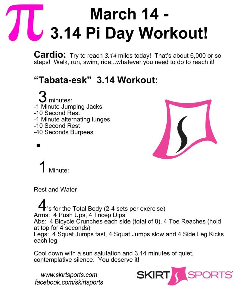 Pi Day Workout | Is it worth it? Let me work it. | Pinterest ...