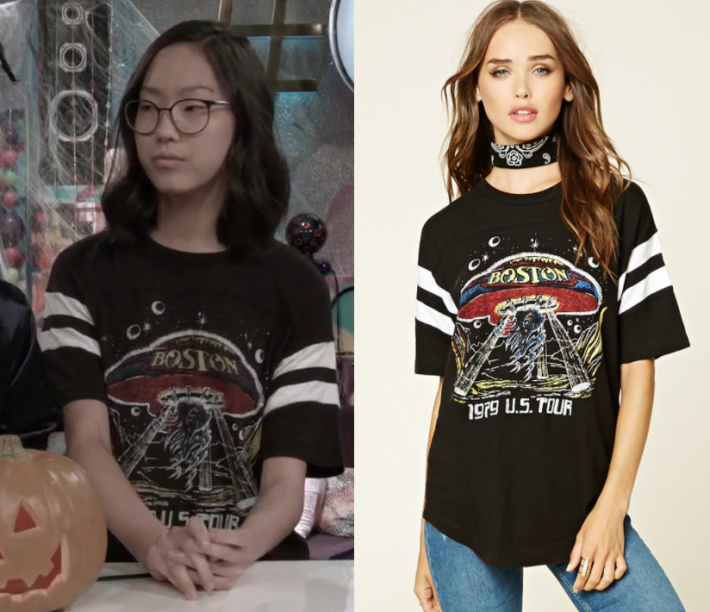 Bizaardvark Season 2 Episode 13 Frankie's Boston Tee