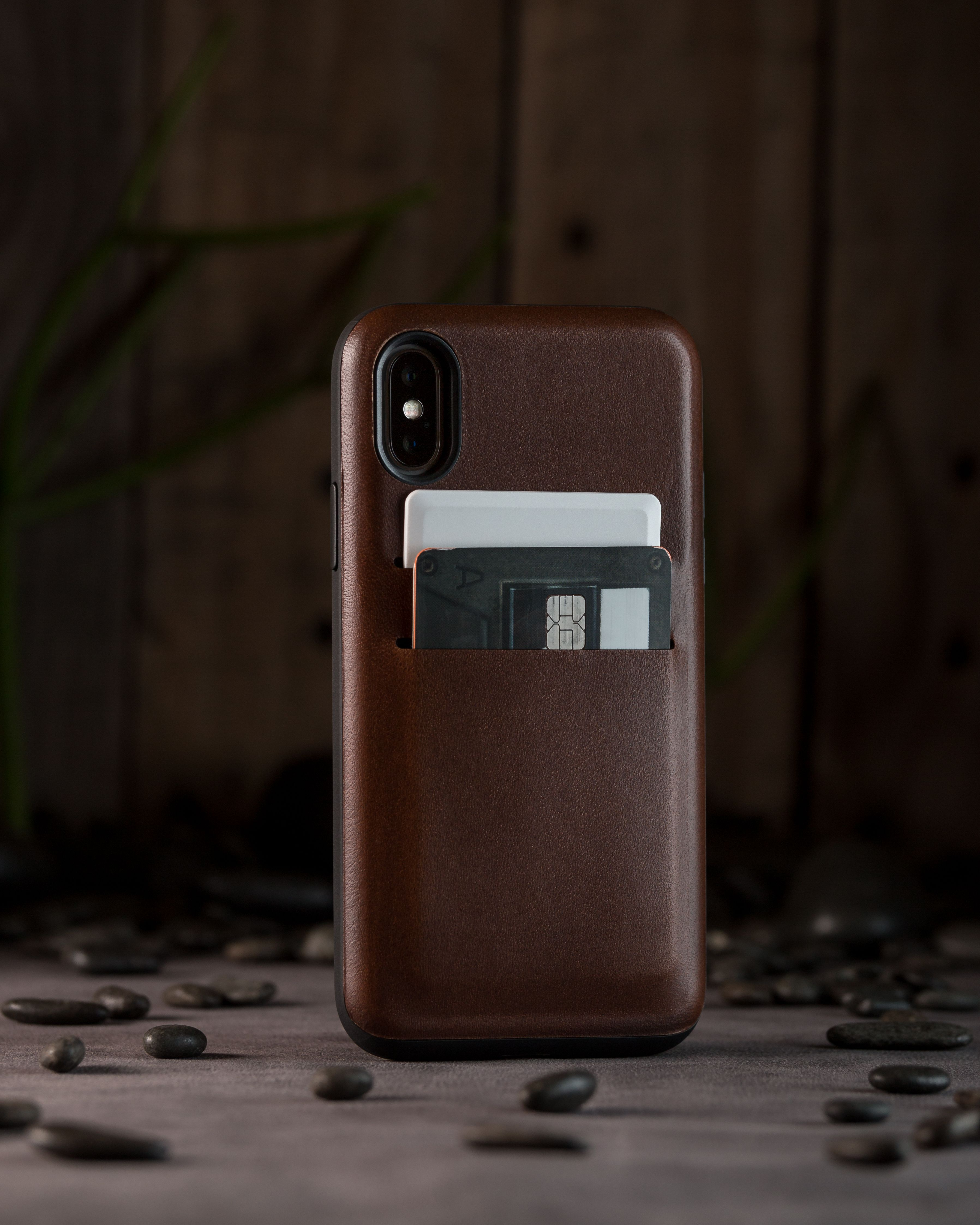 cheap for discount 31192 538c1 Wallet Case for iPhone X by Nomad. Made with Horween Leather and ...