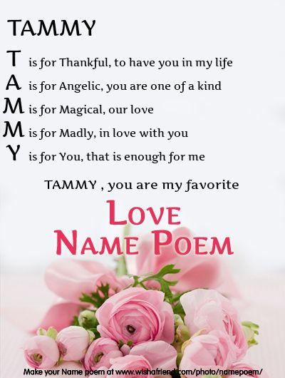 Translations Into Italian: Acrostic Love Name Poem, Acrostic Love Poem For Your Name