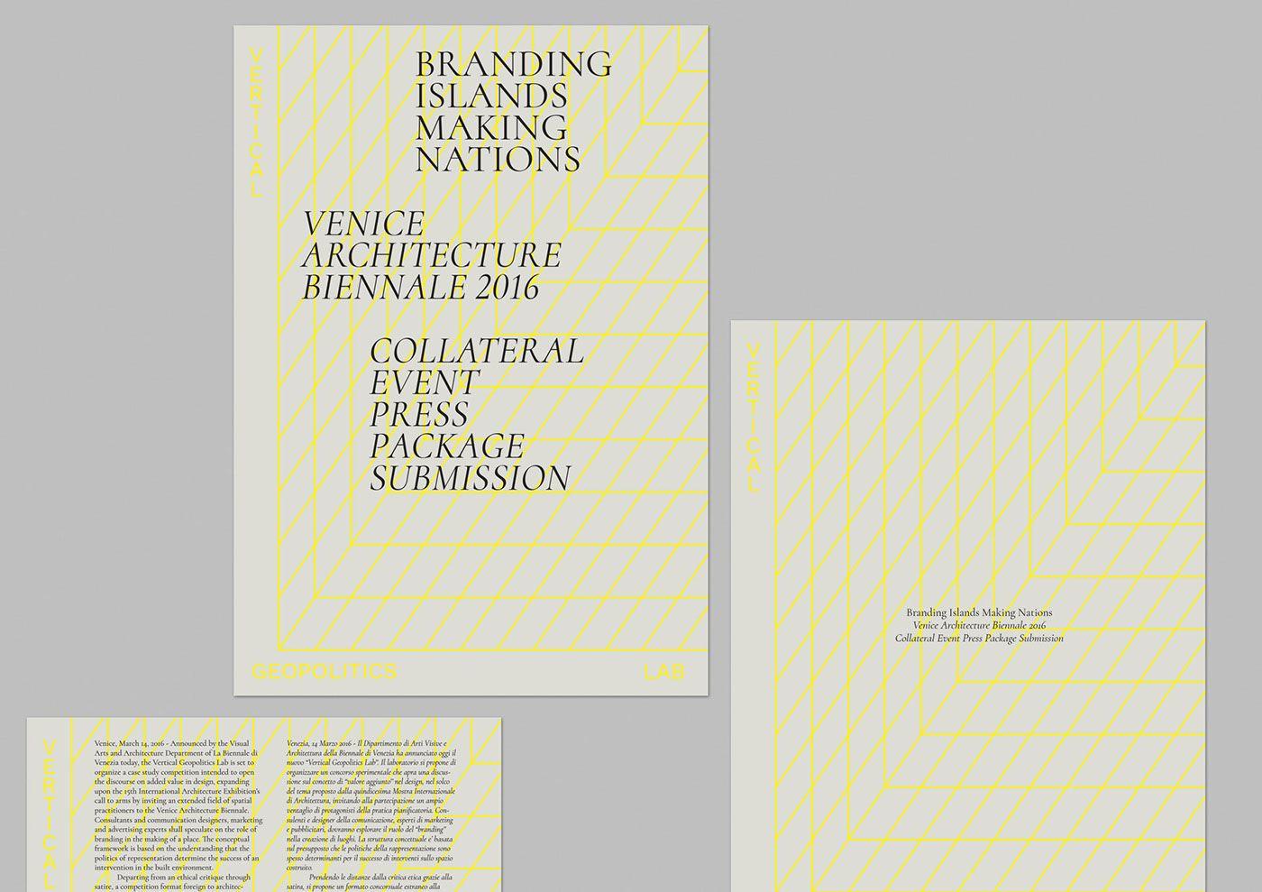 Vertical Geopolitics Lab on Behance Branding
