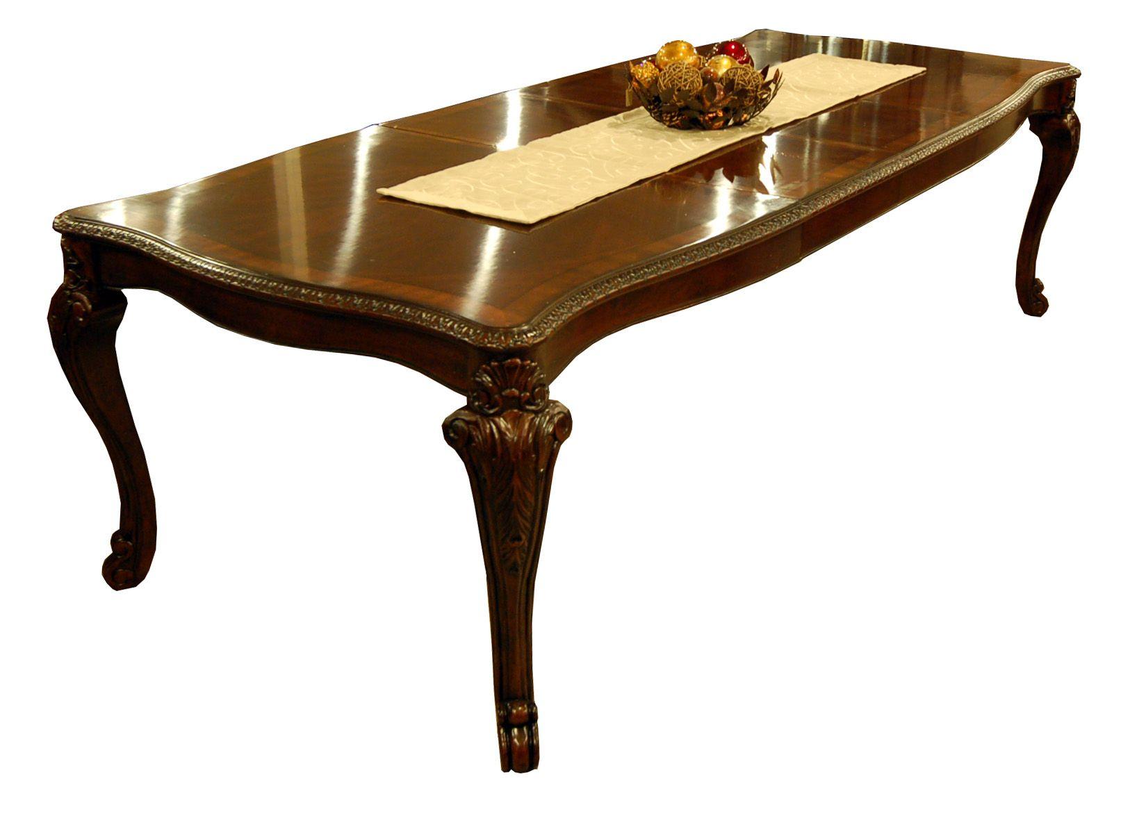 Item Vintage Victorian Dining Table Closeup