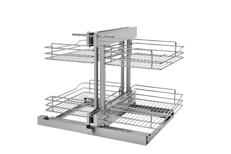 Corner base kitchen cabinet  Amazon RevAShelf  PSPCR   in Blind Corner Cabinet