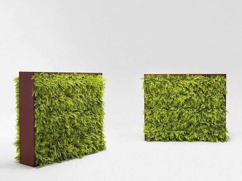 Indoor vertical garden GREENERY by Paola Lenti design CRS Paola