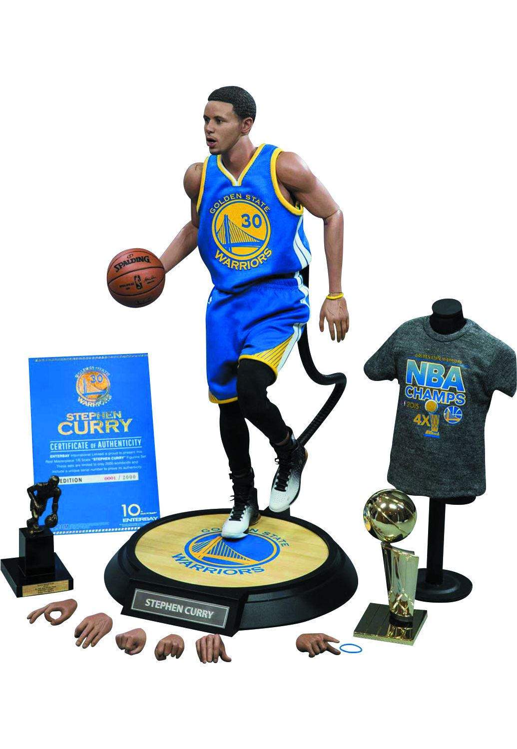 1//6 Scale Stephen Curry Head Sculpt for 12/'/' Action Figure Body Hot Toys