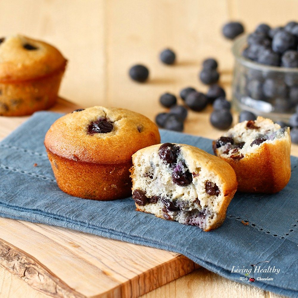 Paleo Blueberry Muffin Grain Free Gluten Free Low Carb