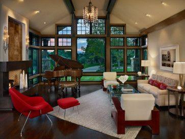 Cherry Hills Western Eclectic Eclectic Living Room Denver