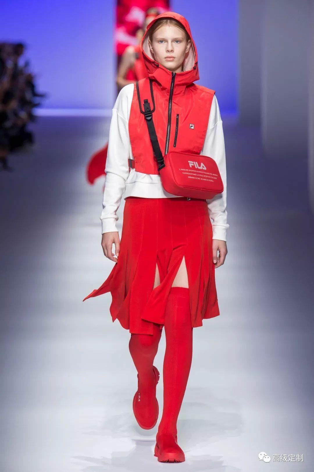 【秀場直擊】FILA2019年春夏ICONIC系列 (With images) Red leather