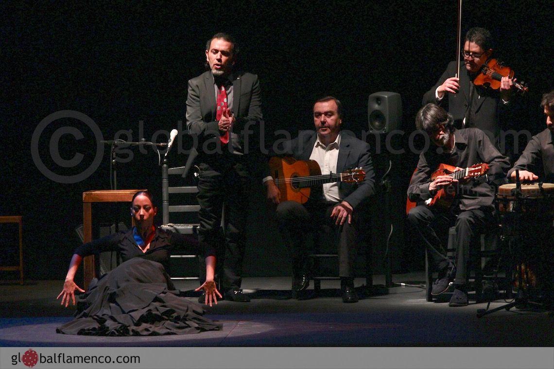 David Lagos canta a Belén Maya. Foto ©Danielmpantiga.com