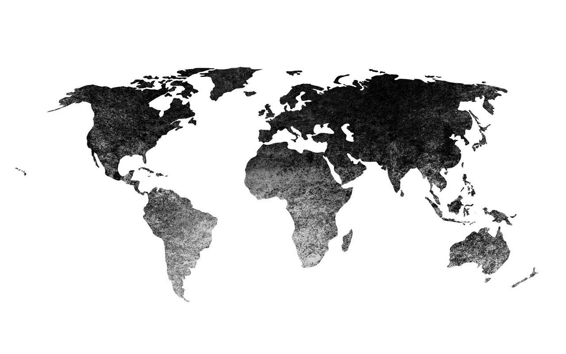 Black World Map Wallpapers High Resolution For Free Wallpaper
