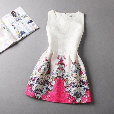 #Dress #Print #Retro DR2930106