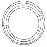 23 inch Box Vinyl Coated Metal Ring - DISCONTINUED