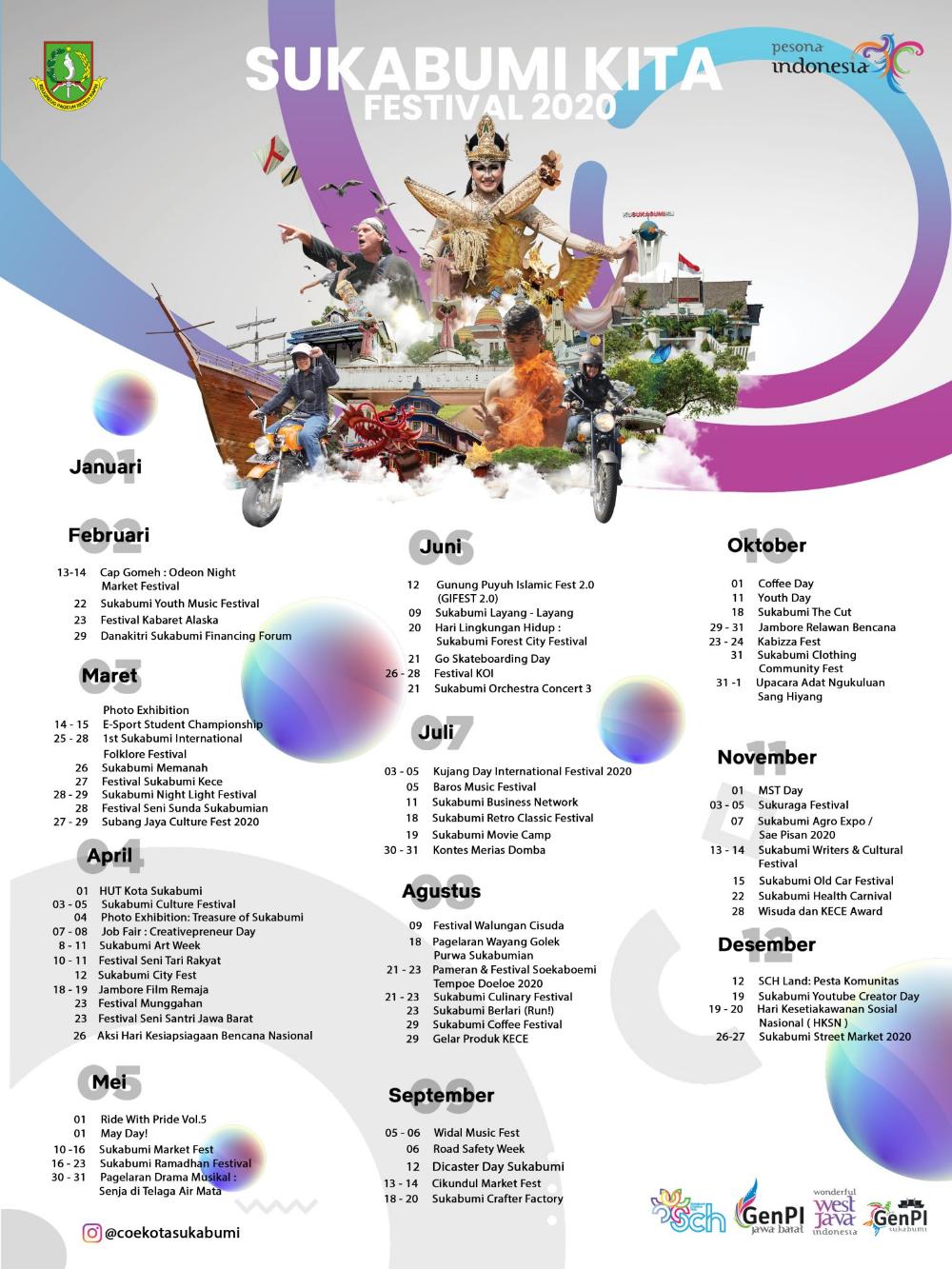 West Java Calendar Of Events 2020 Gps Wisata Indonesia Kota Kalimantan Indonesia