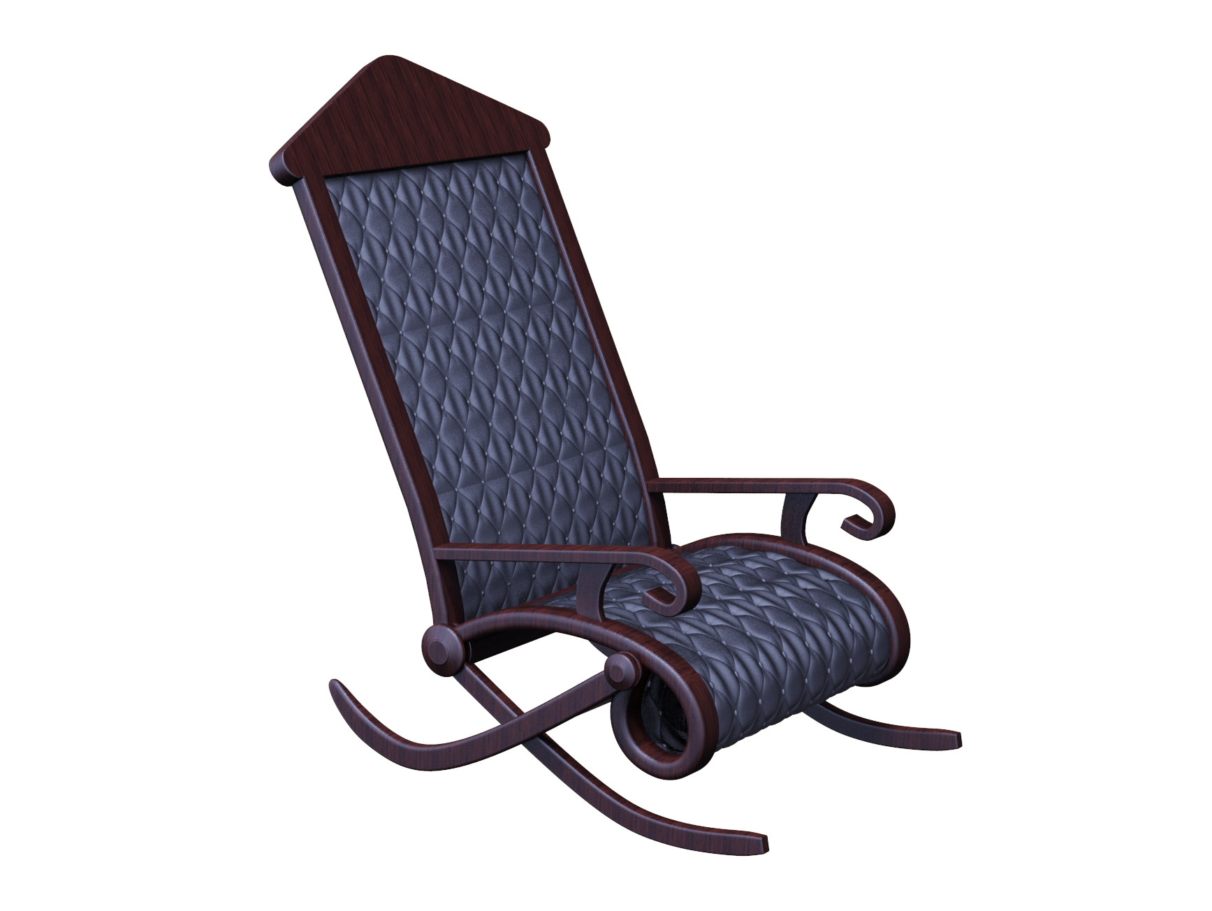 3d Rocking Chair Rocking Chair Rocking Chair Chair Outdoor Chairs
