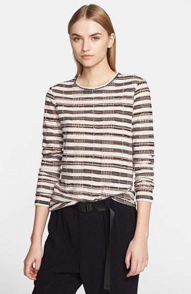 Proenza Schouler Print Tissue Jersey Long Sleeve Tee available at #Nordstrom
