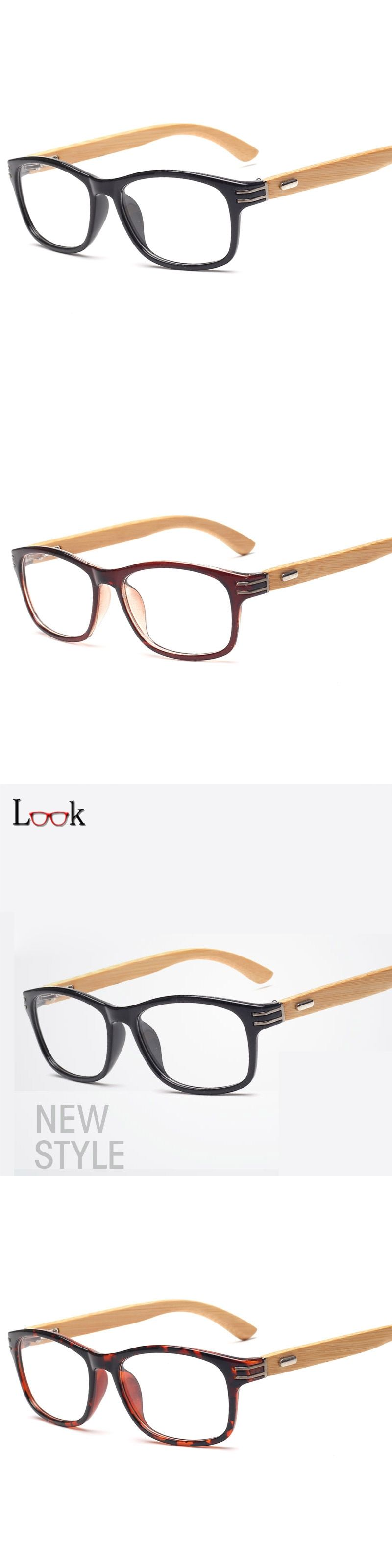Brand 2017 Glasses Frame Wooden Fashion Retro Bamboo Eyeglasses ...