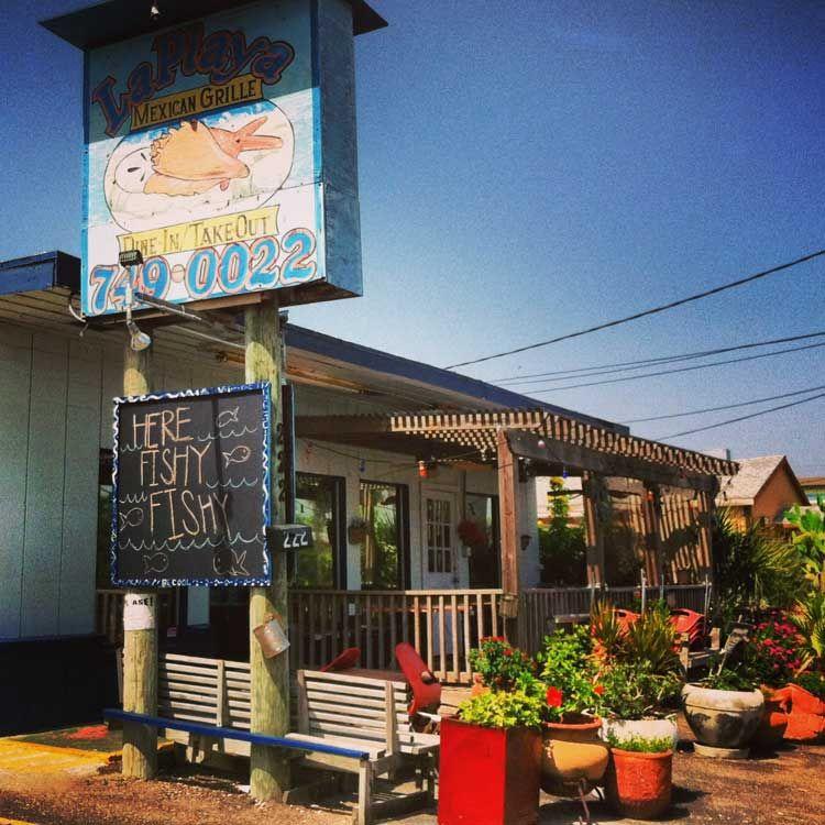 La playa mexican grille port aransas coastal bend menu