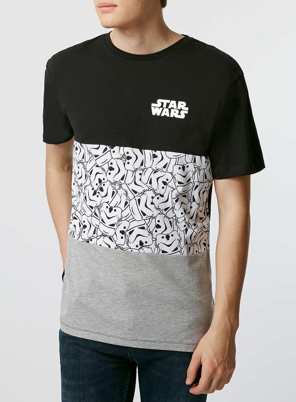 Black t shirt topman - Photo 1 Of Black Star Wars T Shirt