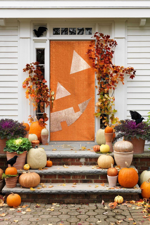 outdoor halloween decorations halloween halloweendoor doors decor