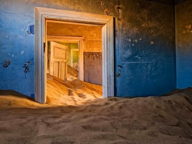 Casa abandonada - Namibia