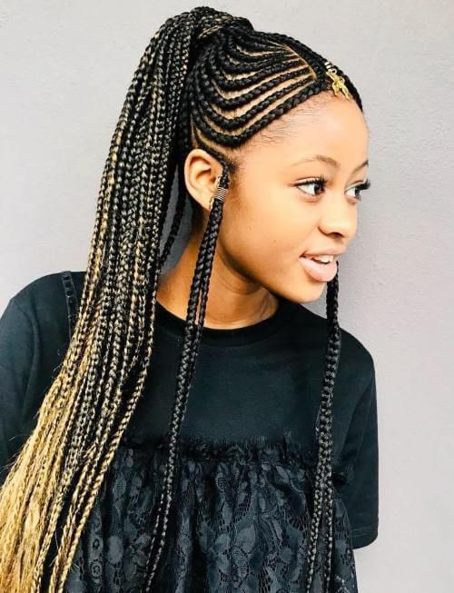 37 Fulani Braids For Women 2018 Cornrows With Artistic Beaded