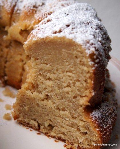 Apfelmus Joghurt Gugelhupf Rezept Babette Kuchen Desserts Und