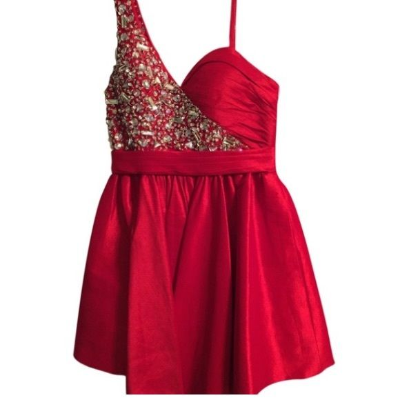New Red Cocktail Dress Beaded dress Dresses Prom