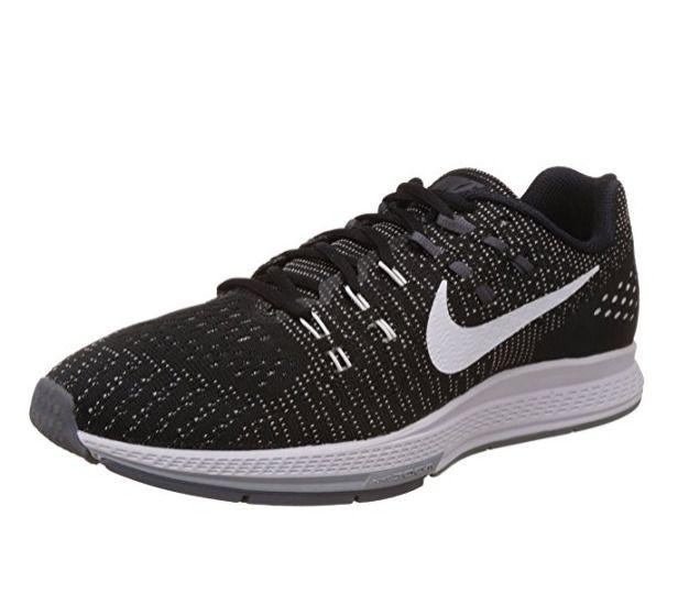 Details About Nike Air Zoom Structure 21 Men S Running Shoes Black White Wolf Grey 904695 001 Schwarze Laufschuhe Laufschuhe Und Nike