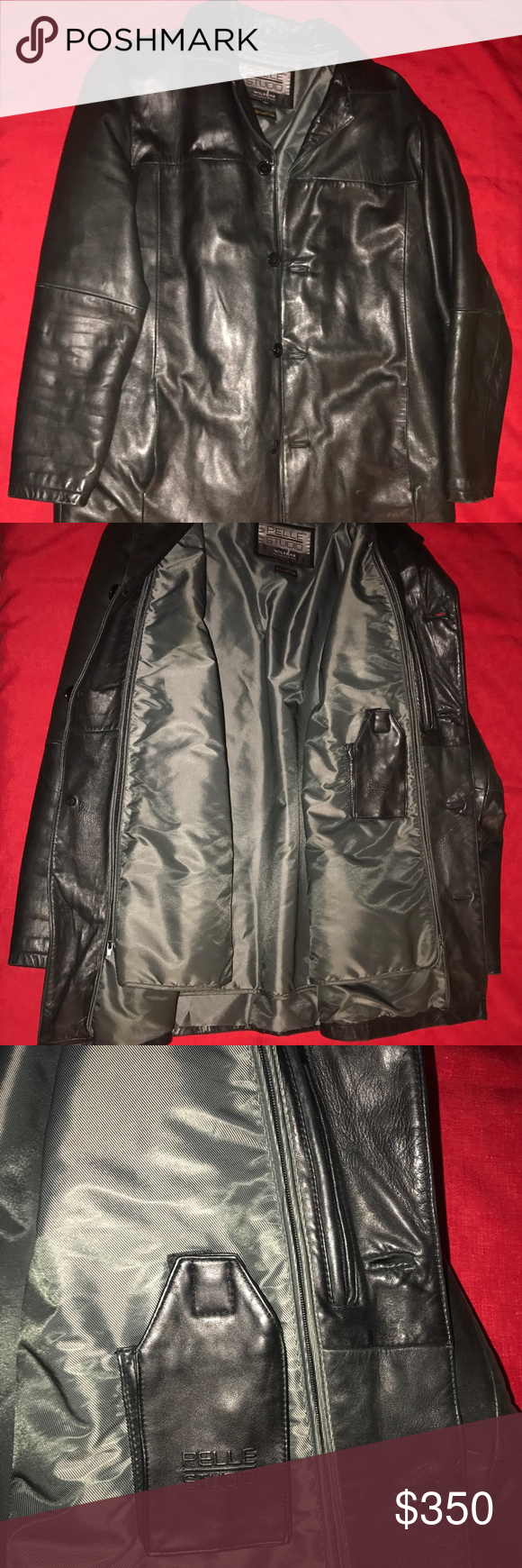 Pelle Studio Wilsons Thinsulate Leather Jacket Leather