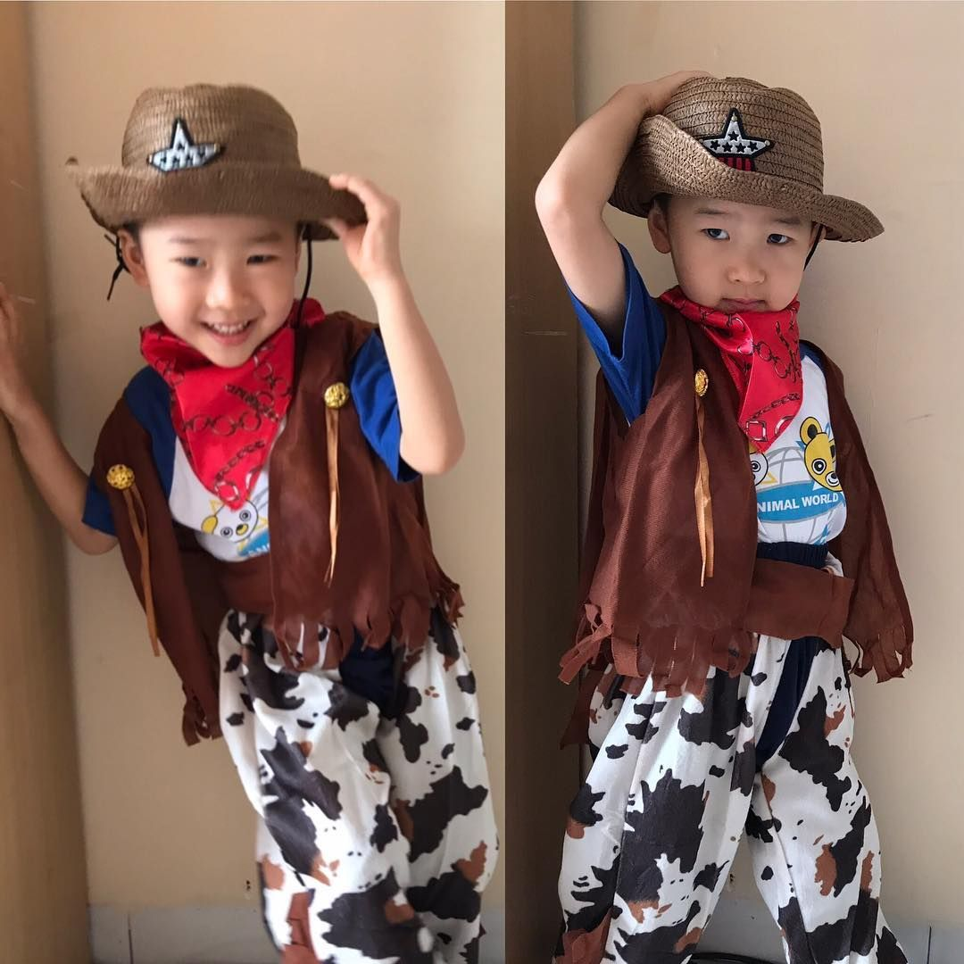 Cowboy Kostum Fur Kinder Selber Machen Zu Karneval Halloween