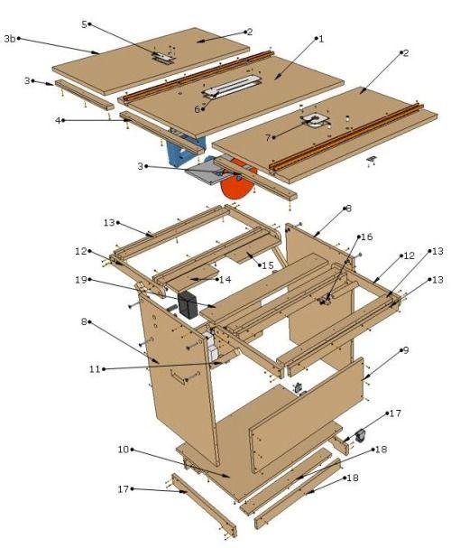 Risultati immagini per planos workshop portable pdf for Progetti fai da te legno pdf
