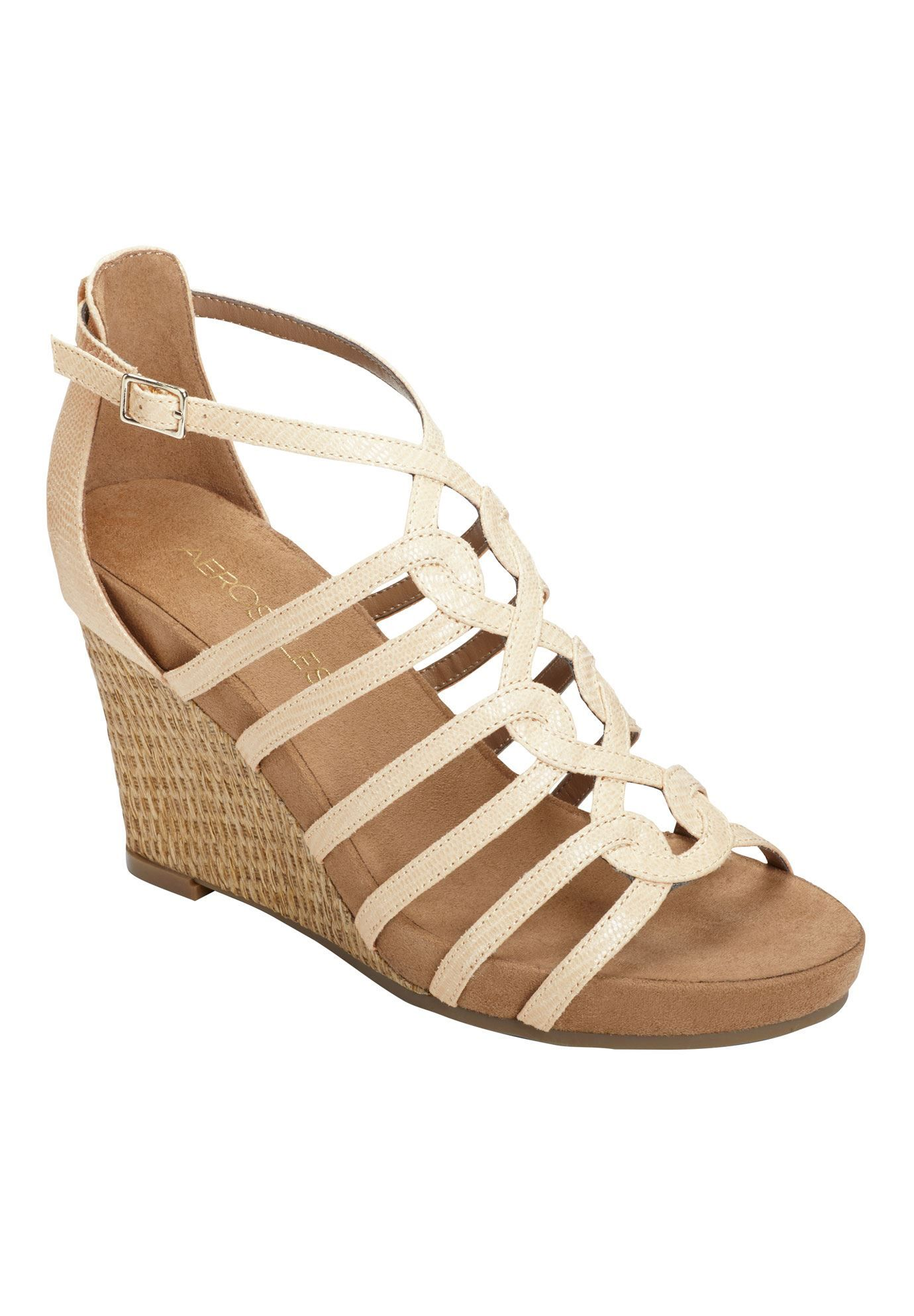 Comparison Shopping Aerosoles Women's A2 by Aerosoles Plushed Metal Womens Dark Tan Aerosoles Womens Sandals