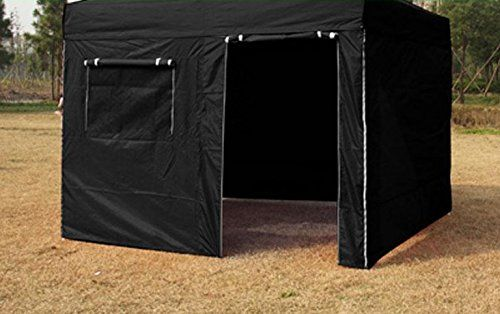 Eurmax Enclosure Wall Kit For 10 X 10 Pop Up Canopy Attach By Velcro Canopy Frame And Canopy Top Cover Not Included Canopy Frame Best Tents For Camping Canopy