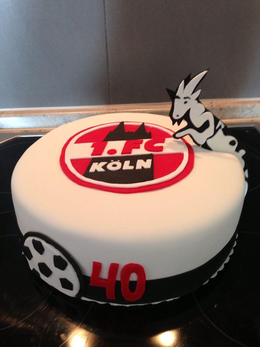 1 Fc Koln Cake Kreativ Koln Fc Koeln Und Kuchen