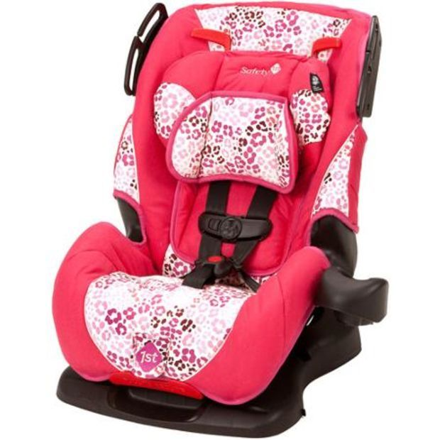 Safety 1st All In One Sport Convertible Car Seat Ruby