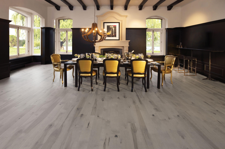 Flair, Maple Grey Drizzle Heavy Character - Mirage Hardwood Floors