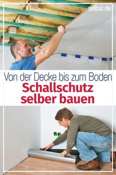 Schallschutz Selber Bauen Architektur Home Renovation House Und
