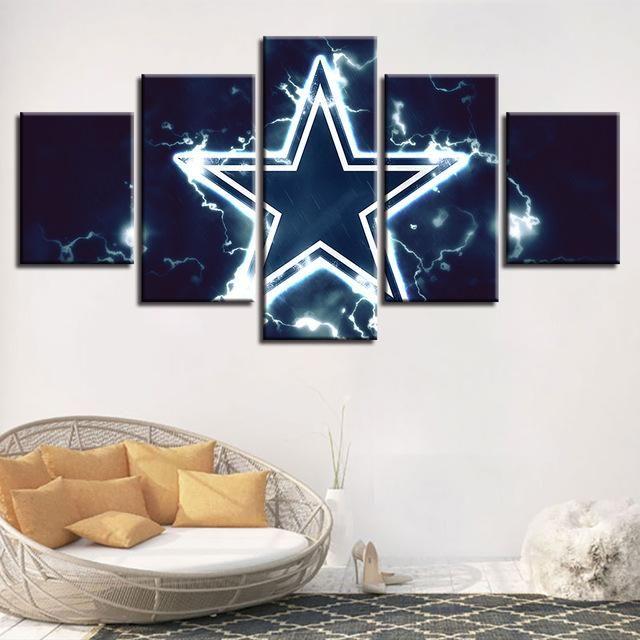 Dallas Cowboys Wall Art Cheap For Living Room Wall Decor