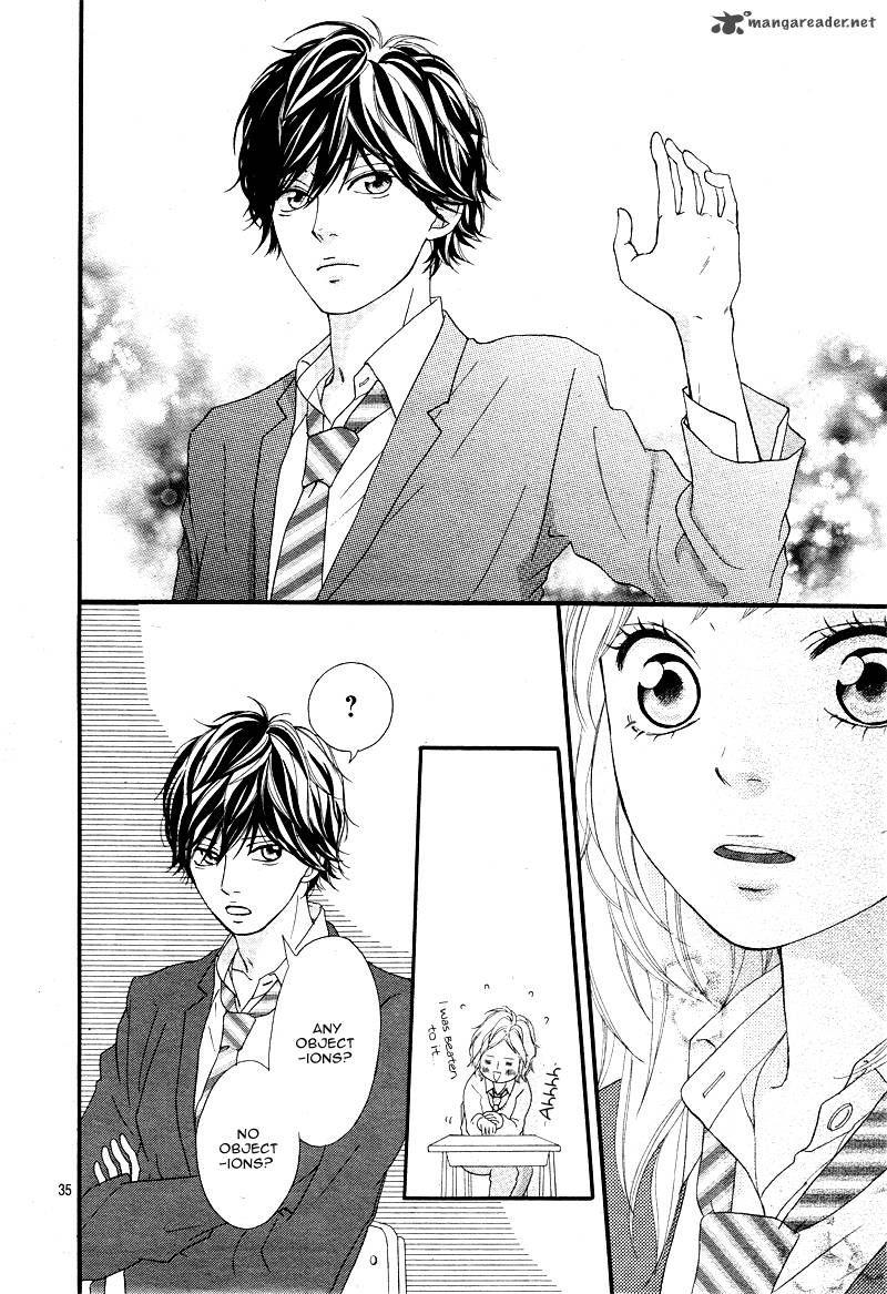 Ao Haru Ride 4 Page 36 in 2020 Ao haru ride, Blue