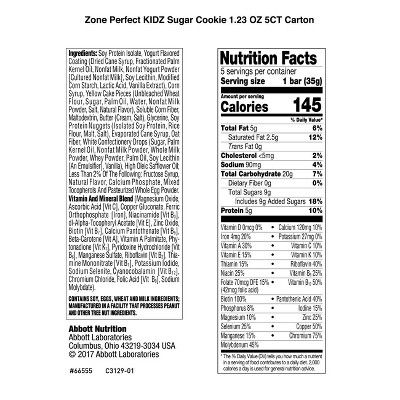 Sugar Cookie Nutrition - House Cookies