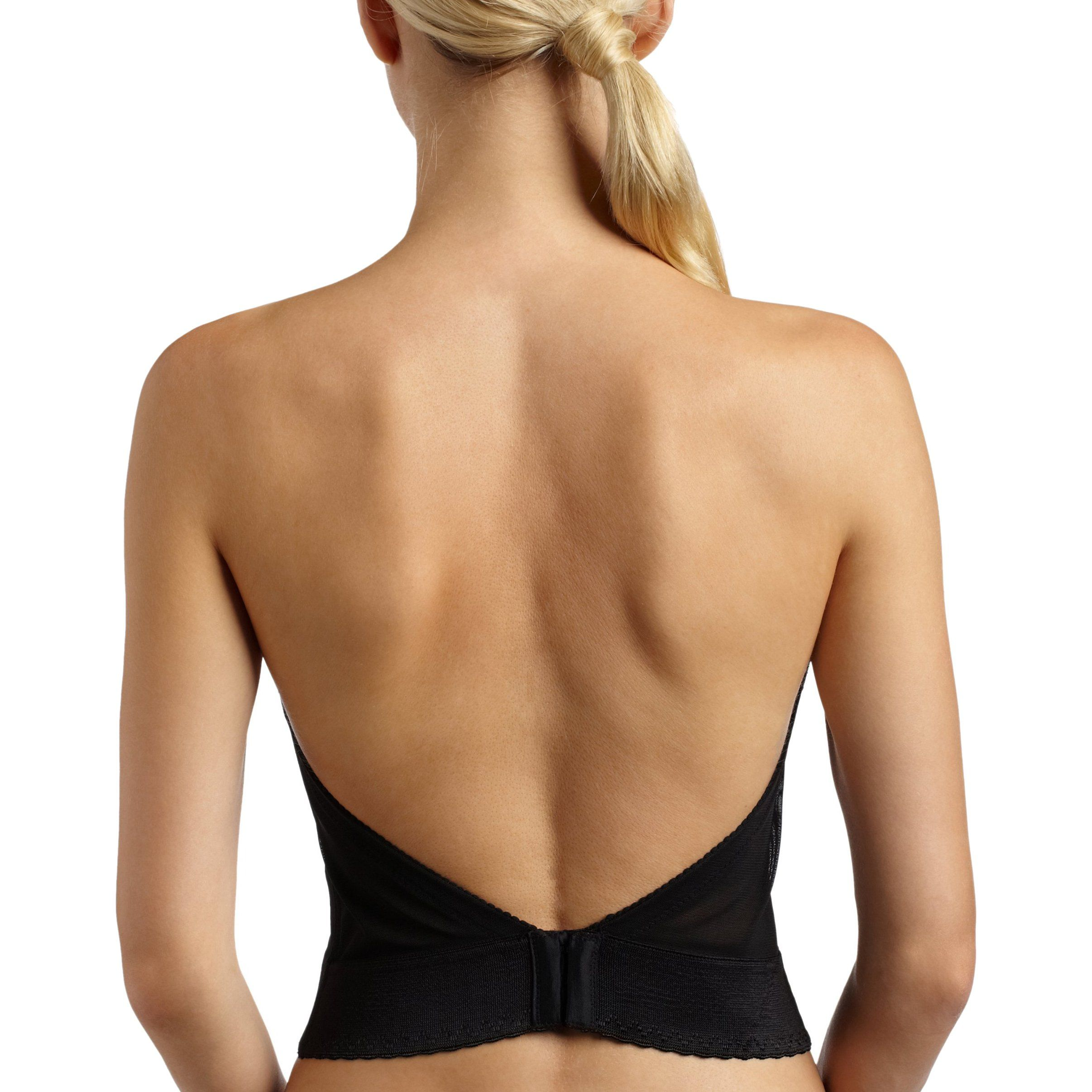 2e4ffbb676 Carnival Women s Invisible Plunge Longline - Amazon -- I searched  everywhere for a low-back or clear back bra for a holiday dress.