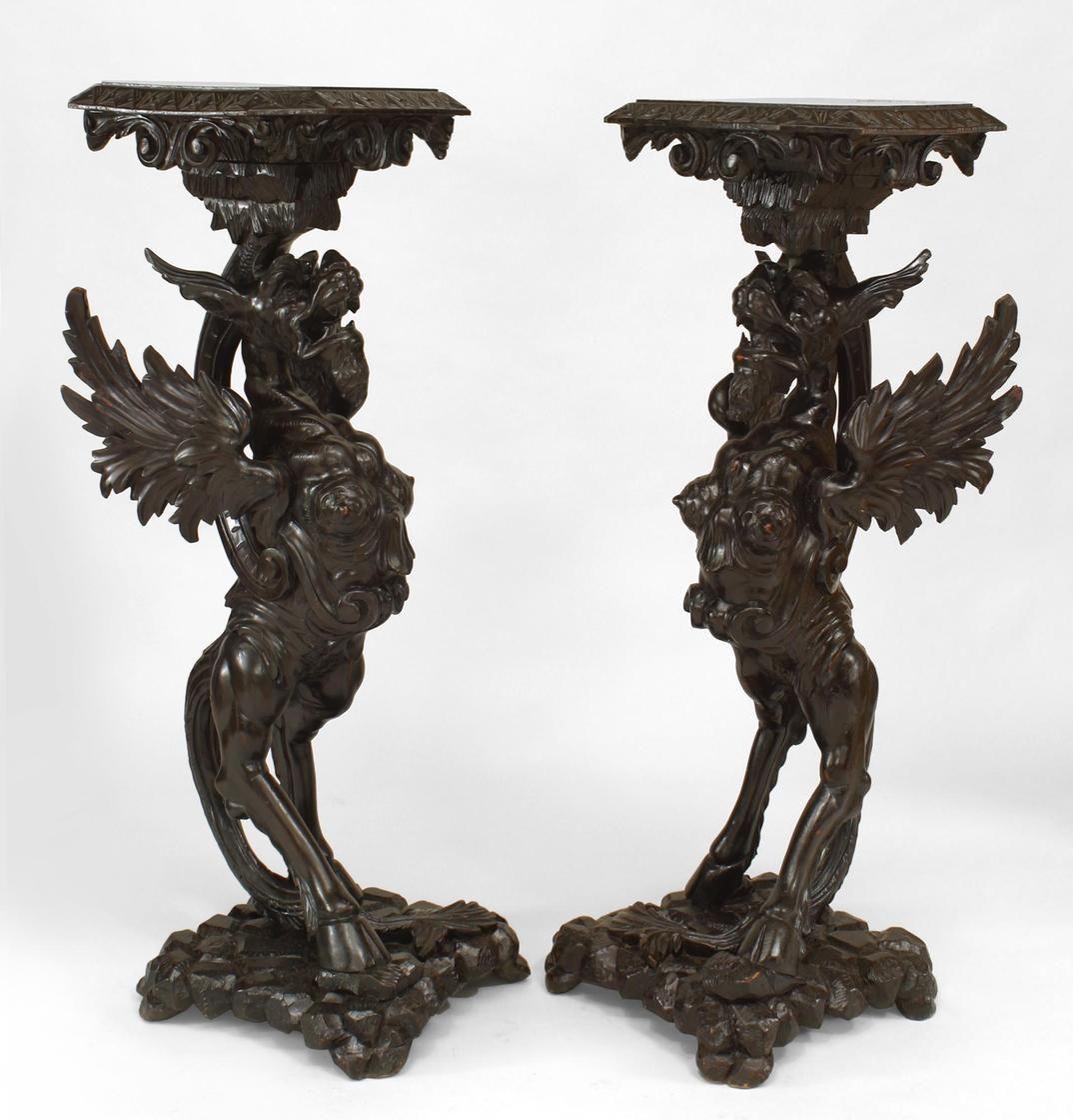 Charmant Italian Renaissance Misc. Furniture Pedestal Walnut | Renaissance |  Pinterest | Squares, Interiors And House