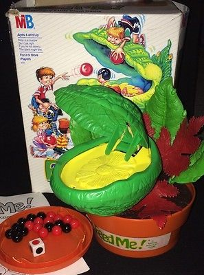 Rare 80s Feed Me Board Game Little Shop Of Horrors By Milton Bradley Compete Little Shop Of Horrors Board Games Fun Board Games