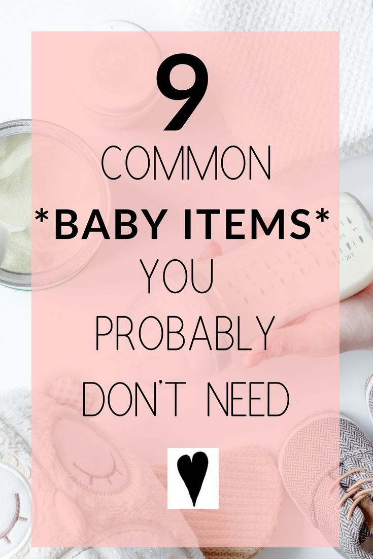 There are tons of baby items on the market. Many of the ...