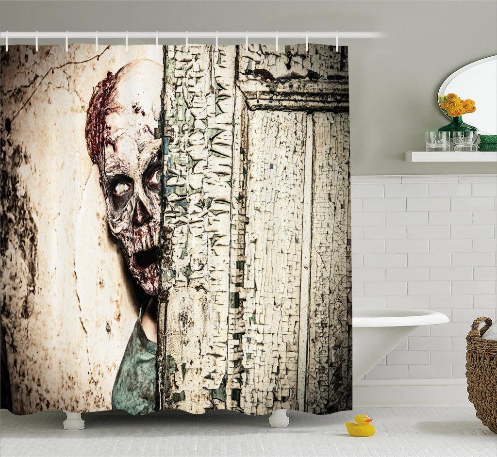 Old House Vampire Shower Curtain Curtains Curtain Store
