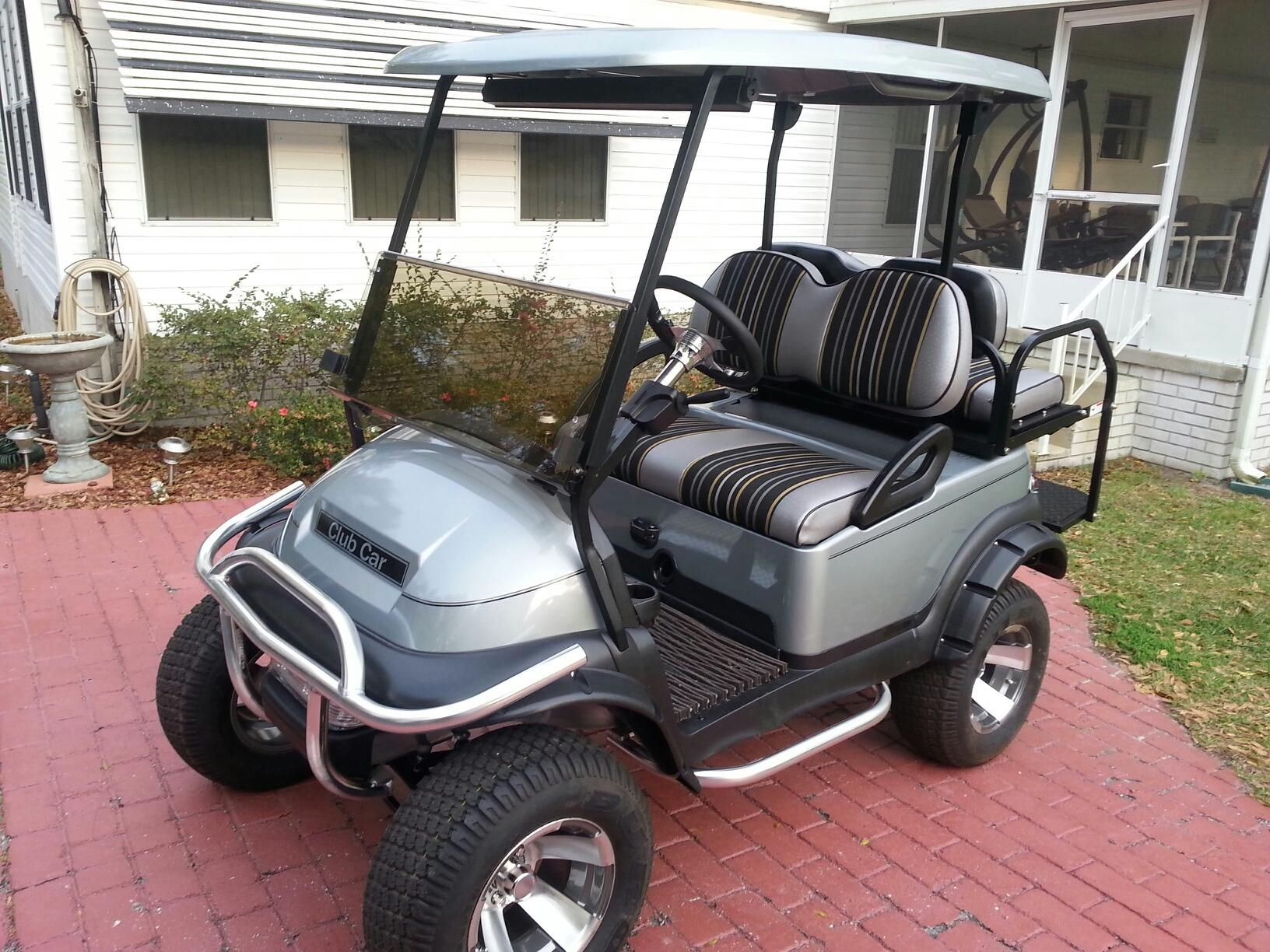 Club Car Accessories >> Club Car Precedent Decked Out With Stenten S Accessories Submitted