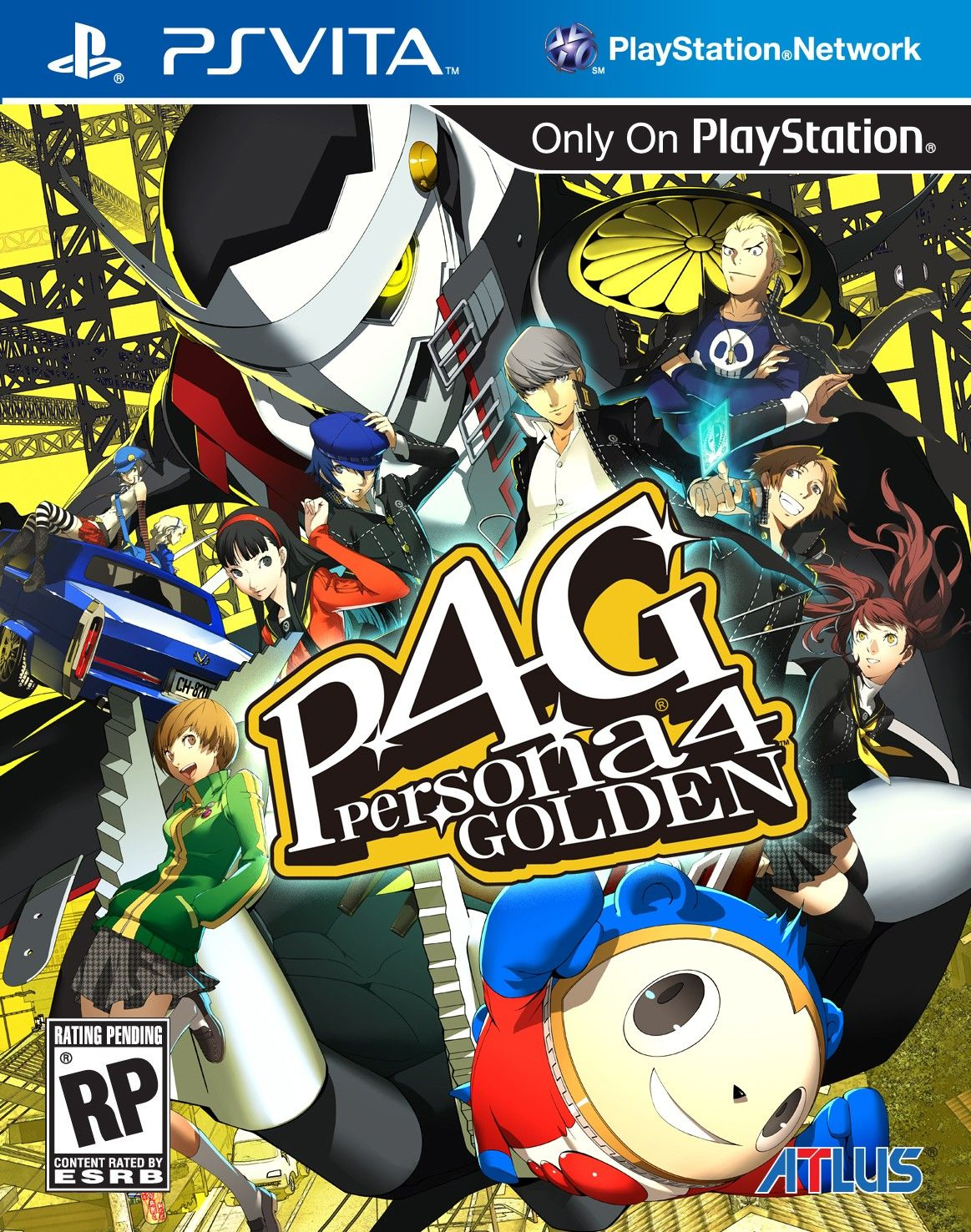Persona 4 Golden | Games | Ps vita games, Ps4 games, Japan games