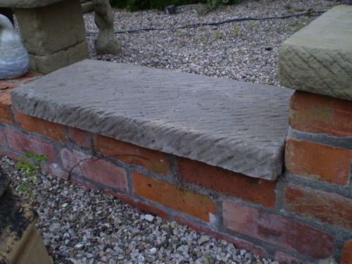 Stone Garden Flat Top Double Brick Coping / Pier Cap / Wall Capping
