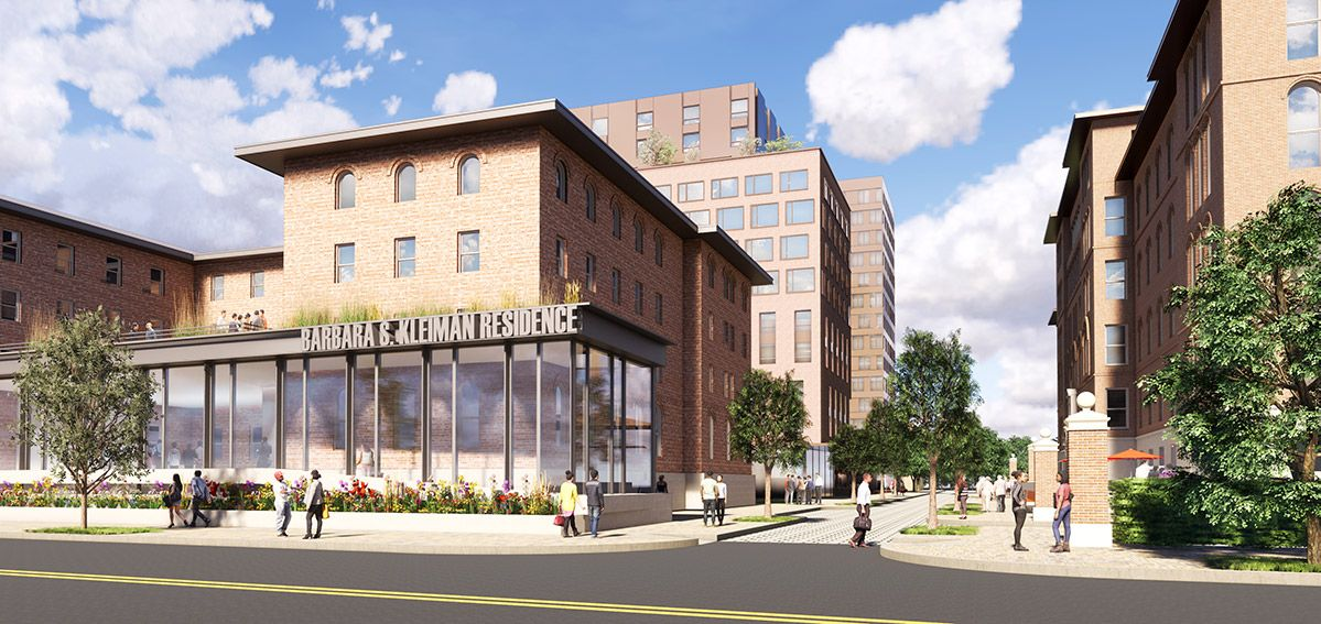 The City Announces Major Redevelopment Of The Greenpoint Hospital Campus For Affordable Housing New York Yimby Affordable Housing Greenpoint Campus
