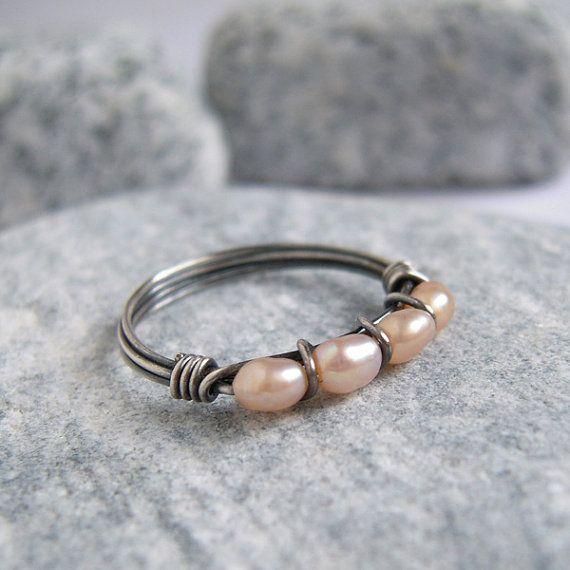 freshwater pearl jewelry rustic - Google Search